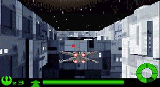 Star Wars: Flight of the Falcon for Game Boy Advance image