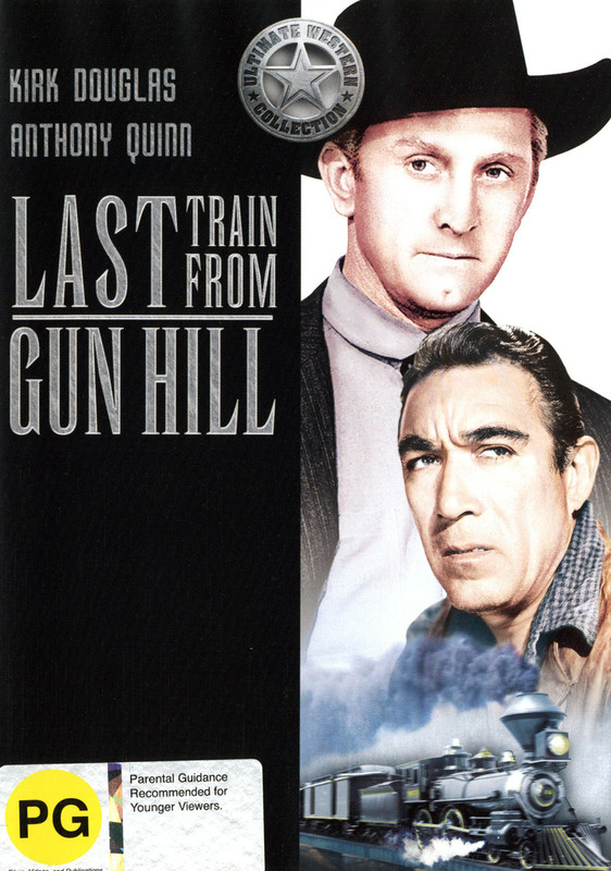 Last Train from Gun Hill DVD