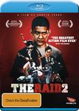 The Raid 2 on Blu-ray