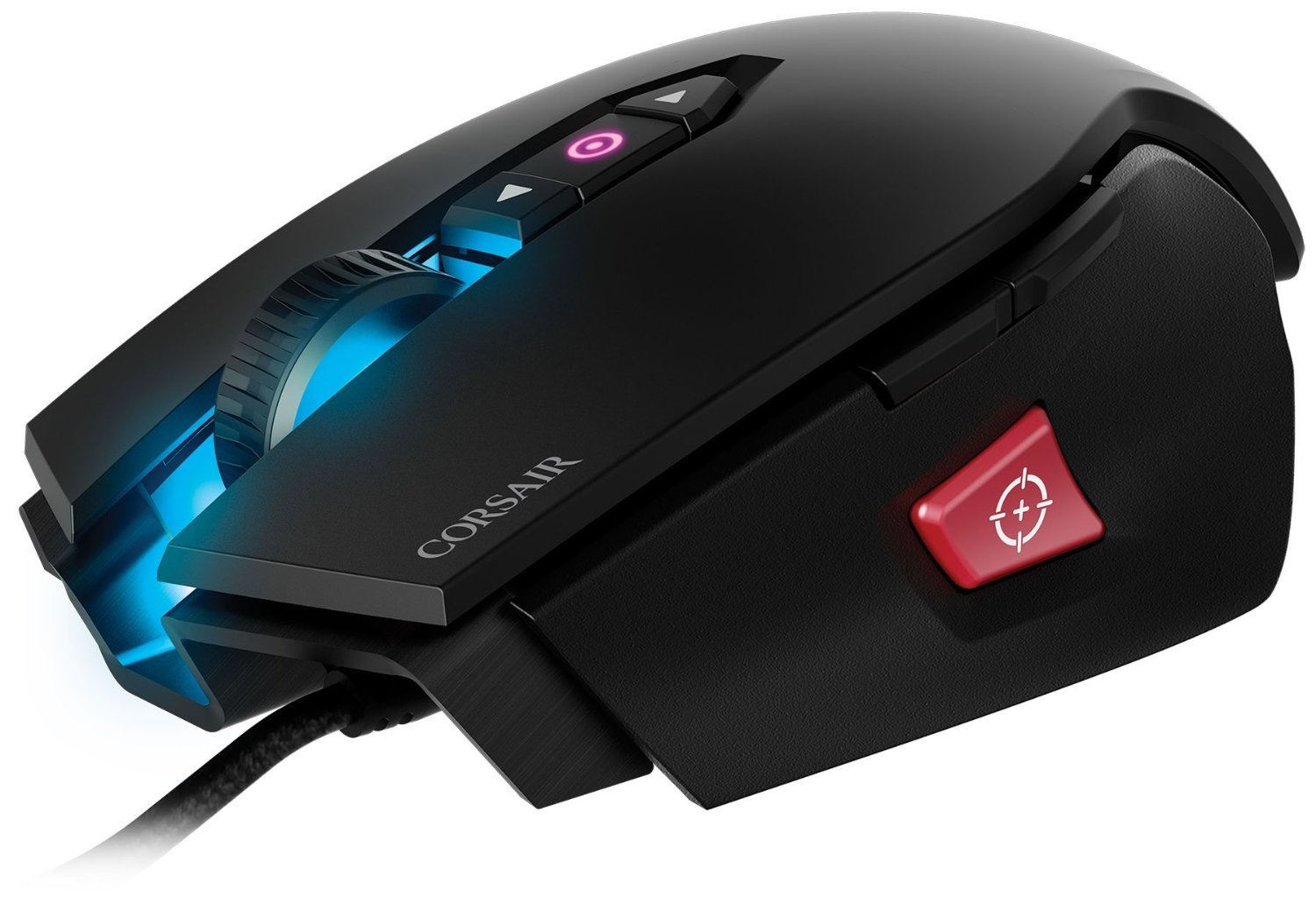 Corsair M65 RGB PRO B FPS Laser Gaming Mouse - Black for PC Games image
