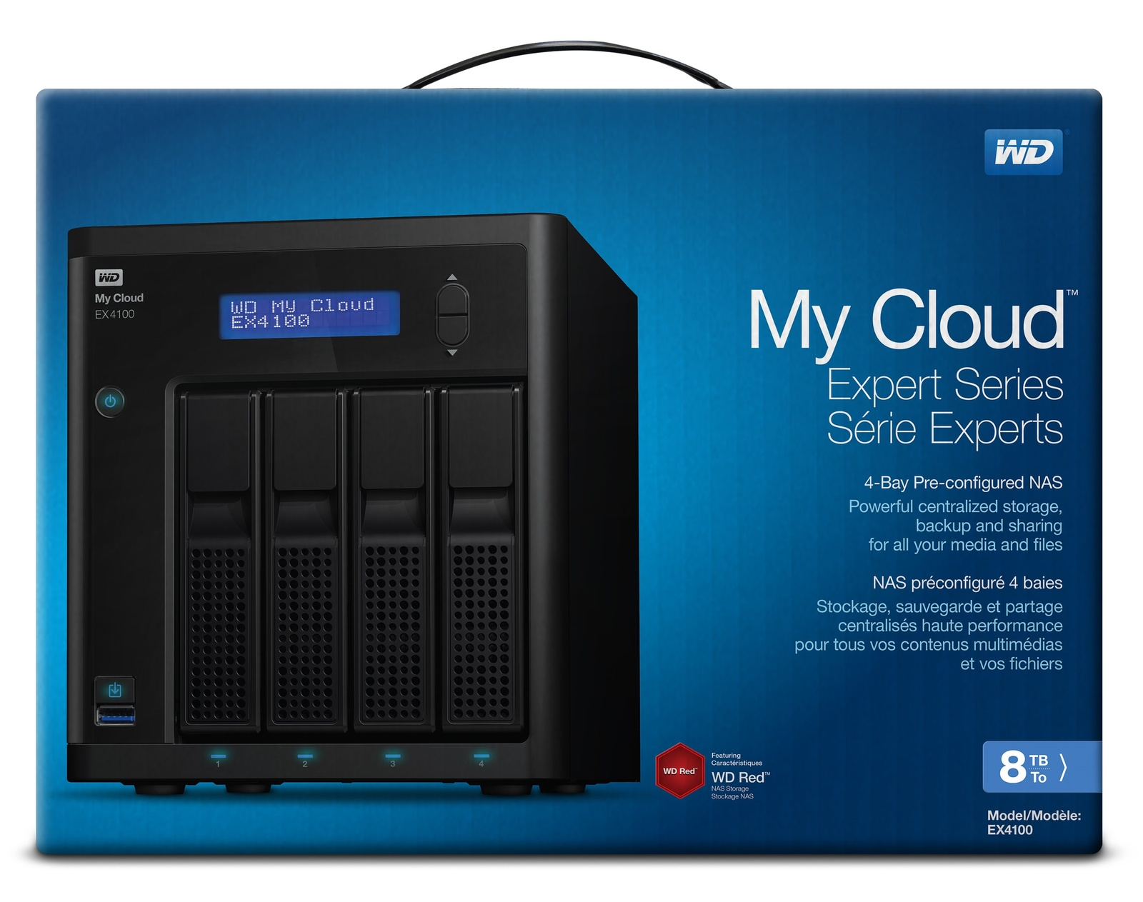 8TB WD My Cloud EX4100 - Expert Series NAS image