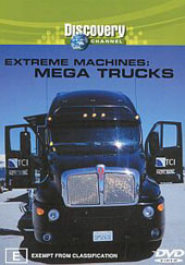 Extreme Machines - Mega Trucks on DVD