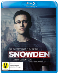 Snowden on Blu-ray