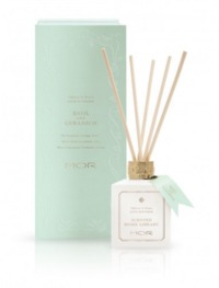 MOR Fragrant Reed Diffuser - Basil & Geranium (180ml)