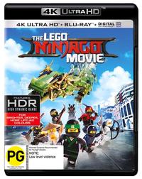 The Lego Ninjago Movie (4K Blu-ray + Blu-ray) on UHD Blu-ray image