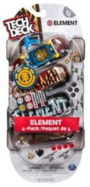 Tech Deck: Fingerboards 4-Pack - (Flip)