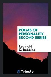 Poems of Personality, Second Series by Reginald C. Robbins image