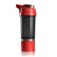 Cyclone Cup Protein Shaker - Red Smoked (650ml)