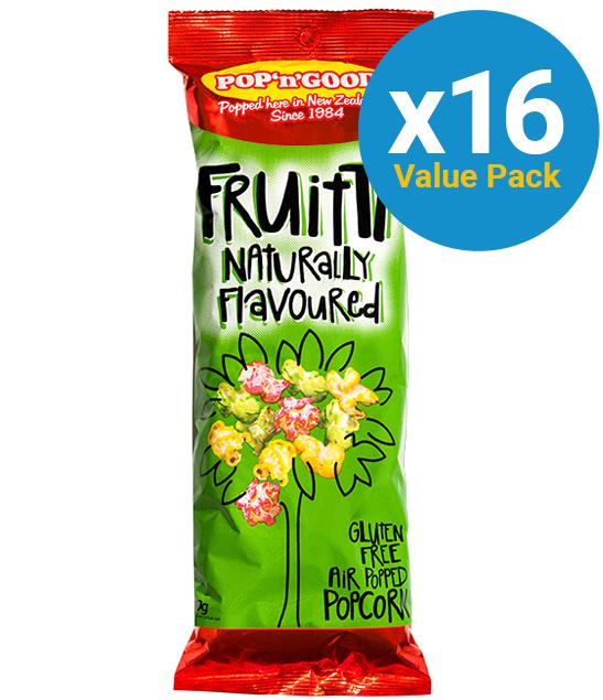 Pop'n'Good: Fruitti 150g (16 Pack)