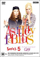 Absolutely Fabulous Series 5 (3 Disc Box Set) on DVD