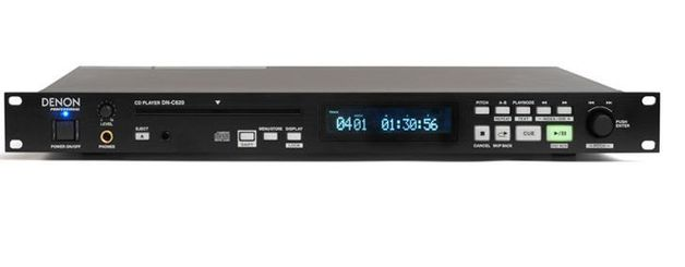 Denon Pro Dn C620 Rack Mount Professional Cd Player At