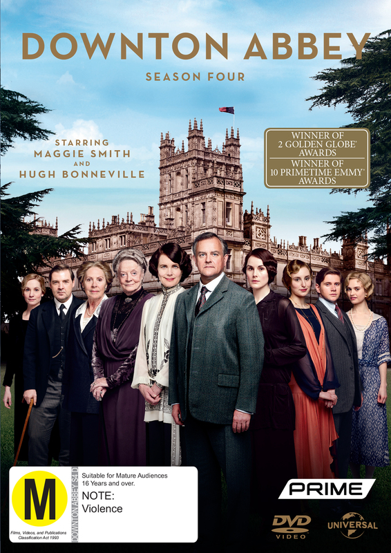 Downton Abbey - Season Four on DVD