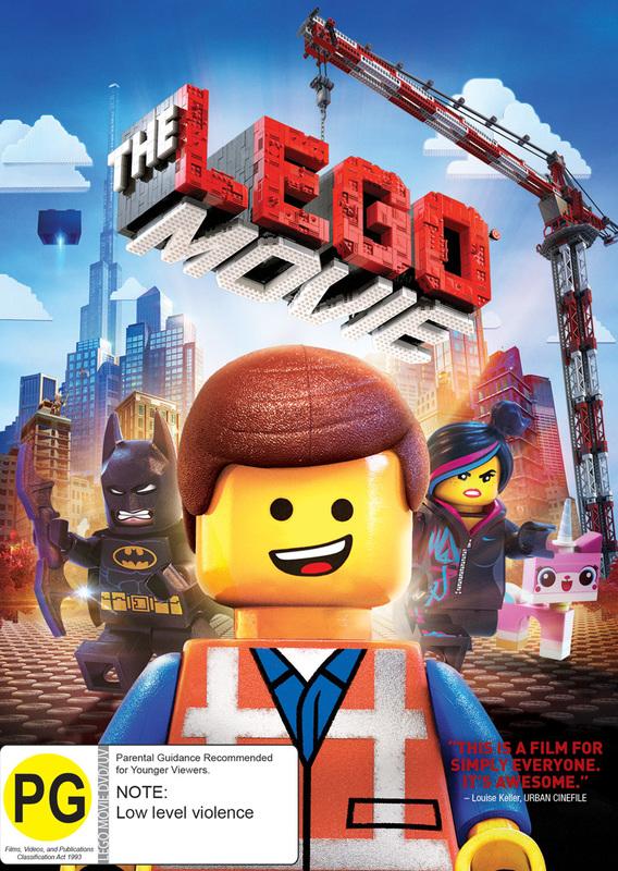 The Lego Movie on DVD