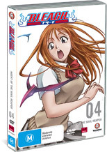 Bleach V04 on DVD