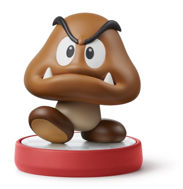 Nintendo Amiibo Goomba - Super Mario Collection for