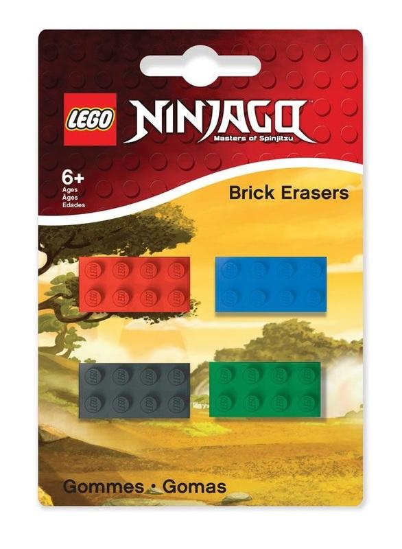 Buy Lego Ninjago Mini Erasers Set At Mighty Ape Nz