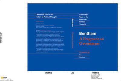 Bentham: A Fragment on Government by Jeremy Bentham image