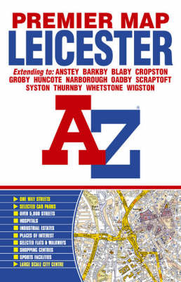Premier Map of Leicester image