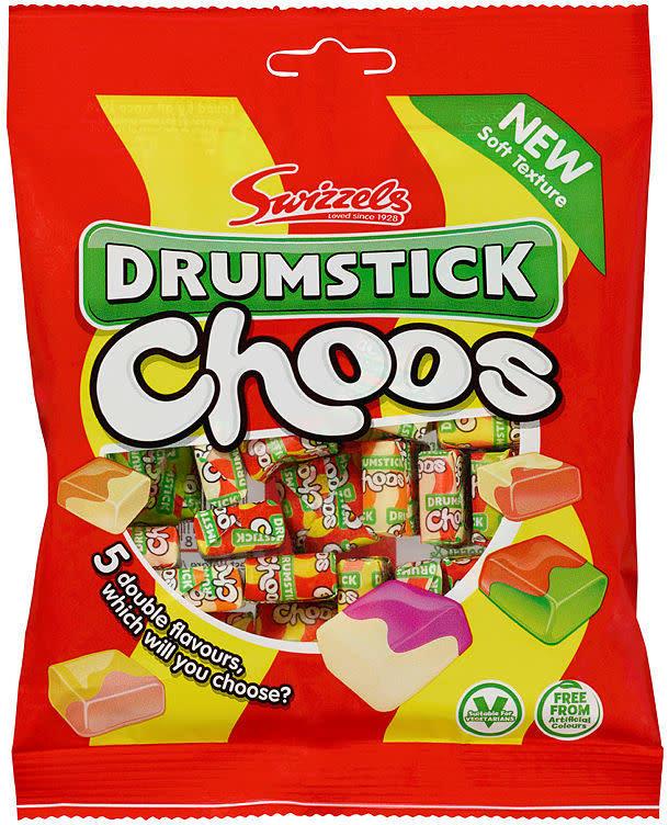 Swizzels Drumsticks Choos 150g