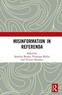 Misinformation in Referenda