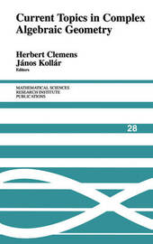 Mathematical Sciences Research Institute Publications: Series Number 28