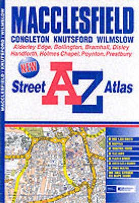 A-Z Macclesfield Street Atlas by a-Z Geographers