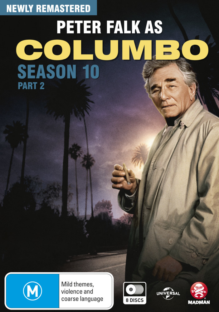 Columbo - Season 10 Part 2 on DVD image