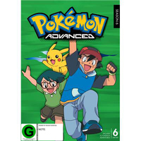Pokemon Season 6: Advanced DVD