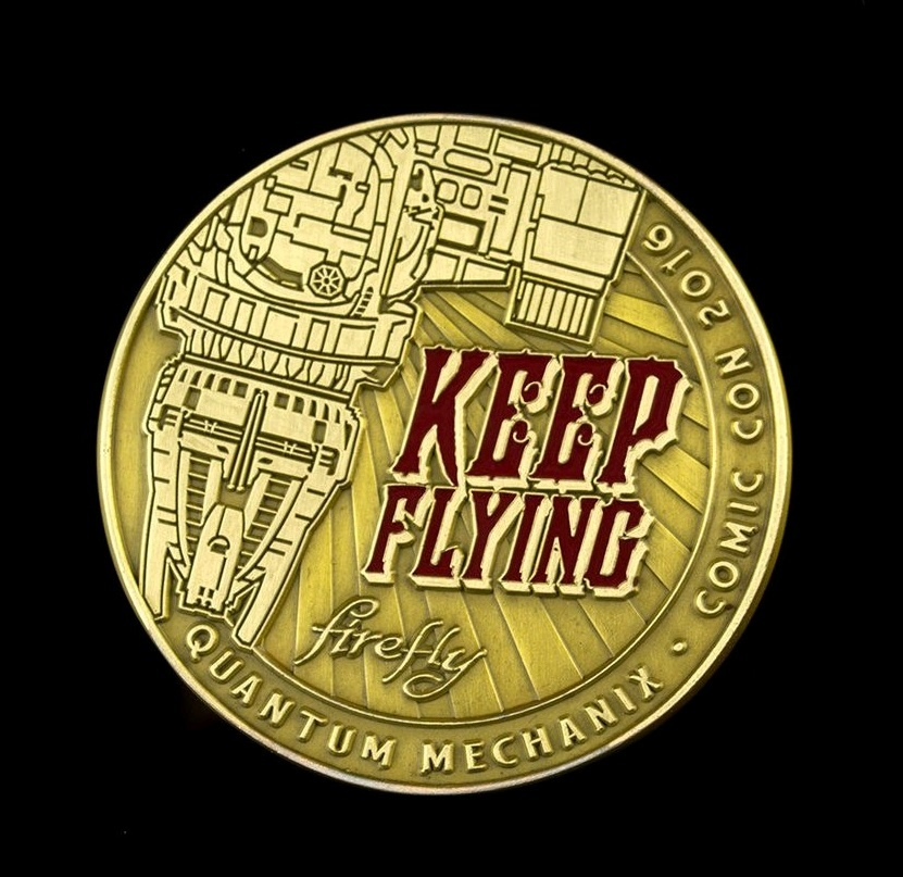 Firefly - Keep Flying Challenge Coin image