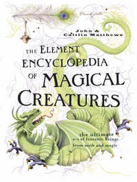The Element Encyclopedia of Magical Creatures by Judika Ilkes image