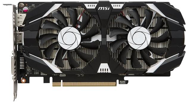 MSI GeForce GTX 1050 TI 4GB OC V1 Graphics Card
