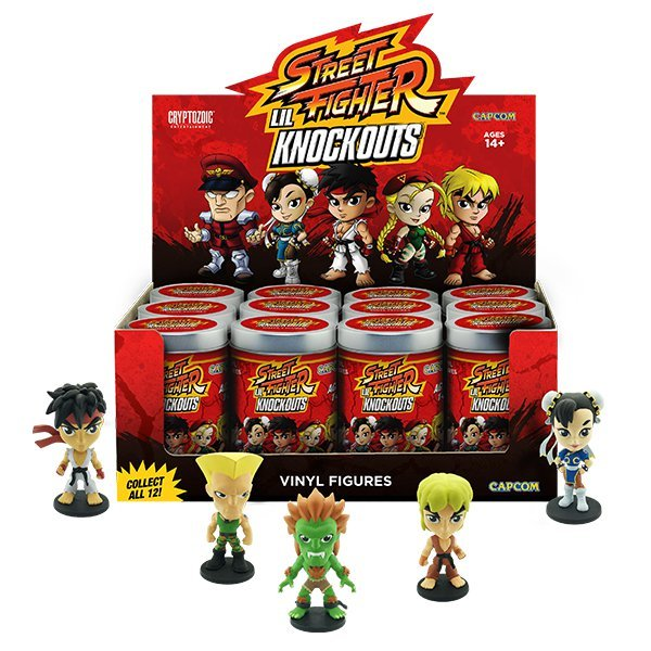 Street Fighter - Lil' Knock-Outs Mini Figures - Series 1 (Blindbox) image