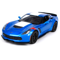 Maisto Special Edition: 1:24 Die-cast Vehicle - 2017 Corvette Grand Sport