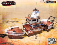 ColorED Scenery: Stranded Ship
