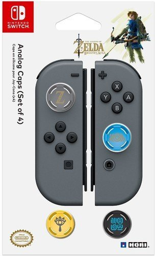 Switch Analogue Caps Zelda Breath of the Wild Edition by Hori for Switch