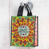 Natural Life: Recycled Gift Bag - Happy Birthday (Medium)