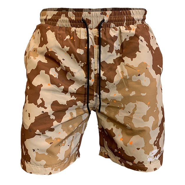 Blackcaps Supporters Camo Shorts (X-Large)