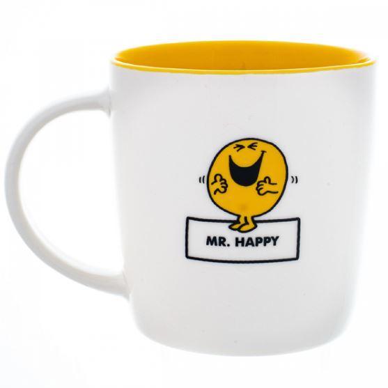 Mr. Men Little Miss: Mr. Happy Mug