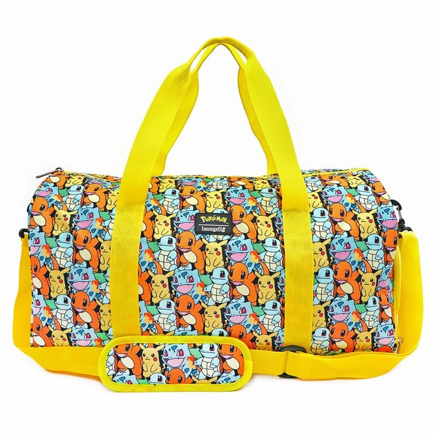 Loungefly: Pokemon - Starters Duffle Bag