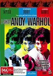 I Shot Andy Warhol on DVD