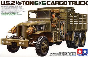 Tamiya U.S. 2.5 Ton 6x6 Cargo Truck 1:35 Model Kit image