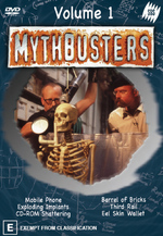 Mythbusters - Vol. 1 on DVD