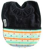 Silly Billyz Towel Pocket Bib (Navy Sprite)