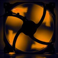 120mm Phanteks Premium Case Fan - Orange LED