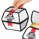 Fast Food Sandwich Pouch - Burger Box