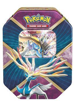 Pokemon TCG XY Shiny Kalos Tin: Xerneas-EX