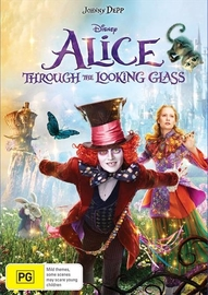 Alice Through the Looking Glass on DVD