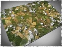 DeepCut Studio Aerial Field PVC Mat (6x4)