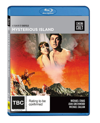 Mysterious Island (Cinema Cult) on Blu-ray