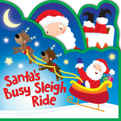 Shaped Foam Books - Santa's Busy Sleigh Ride